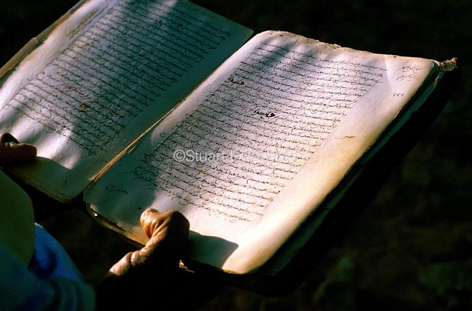Mauritania - Chinguetti - A priceless Koran