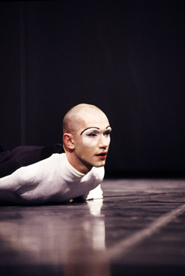 "UK - London - Ballet dancer Michael Clark in rehersals for his ballet ""Mmm"""